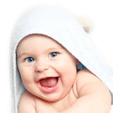 Happy baby girl Royalty Free Stock Images