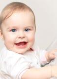 Happy baby girl Stock Image