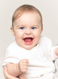 Happy baby girl Stock Photos