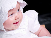 Happy Baby Girl Stock Photography