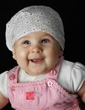 Happy baby girl Royalty Free Stock Photo