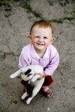 Happy baby-girl Royalty Free Stock Photo