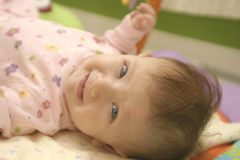 Happy Baby Girl Royalty Free Stock Image