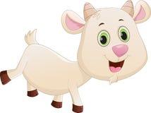 Happy baby goat cartoon Royalty Free Stock Image
