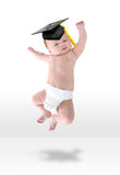 Happy Baby Jumpign for Joy royalty free stock images