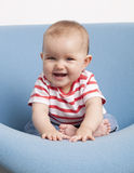 Happy baby laughing Royalty Free Stock Photos