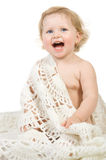 Happy baby portrait Stock Image