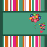 Happy background for parties. Colored paper for messages of wishes Royalty Free Stock Photo