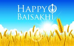 Happy Baisakhi Royalty Free Stock Photos