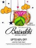 Happy Baisakhi Stock Photo