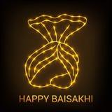 Happy Baisakhi. Stock Images