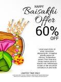 Happy Baisakhi. Stock Photo