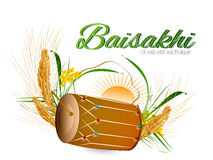 Happy Baisakhi Stock Photography