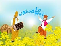 Happy Baisakhi Stock Image