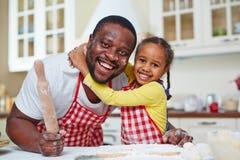 Happy bakers Stock Image
