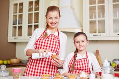 Happy bakers Stock Photography