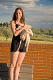 Happy Ballerina Stock Image