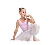 Happy  ballerina Royalty Free Stock Image
