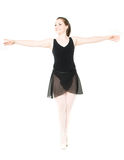 Happy Ballet Dancer Royalty Free Stock Image