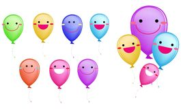 Happy balloon Stock Image
