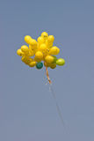 Happy balloons. Some happy balloons in air Stock Photo