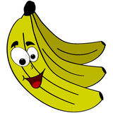 Happy banana Stock Photography