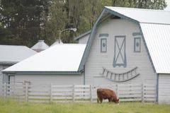 Happy Barn Stock Photo