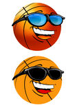 Happy basketball cartoon Illustration stock images