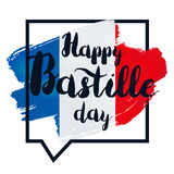 Happy Bastille Day Stock Image