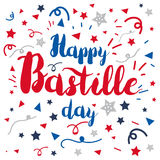 Happy Bastille Day Royalty Free Stock Image