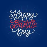 Happy Bastille Day concept. Color background of French National flag. 14th July design for greeting card, poster etc. Happy Bastille Day concept. Color Royalty Free Stock Photo