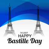 Happy Bastille Day. Stock Photography