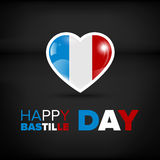 Happy Bastille day Royalty Free Stock Photo