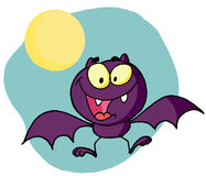 Happy bat Royalty Free Stock Photo