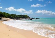 Happy Bay off coast of St Martin Caribbean Stock Image