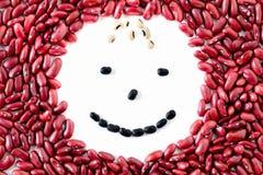 Happy Beans Face Stock Photos