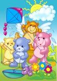 Happy bears Stock Photos