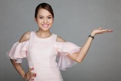Happy beautiful Asian girl Stock Photos
