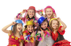 Happy beautiful children Royalty Free Stock Photography