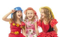 Happy beautiful children Royalty Free Stock Image