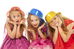Happy beautiful children Stock Image