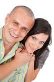 Happy beautiful couple Stock Photo