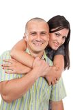 Happy beautiful couple Royalty Free Stock Photos