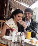 Happy Beautiful couple Stock Photos