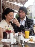 Happy Beautiful couple Stock Image