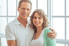 Happy beautiful couple Stock Photography