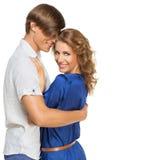 Happy beautiful couple Royalty Free Stock Photo