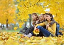Happy beautiful family Stock Photography