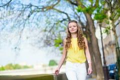 Happy beautiful girl enjoying summer day Royalty Free Stock Images