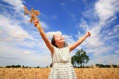 Happy beautiful girl Stock Photography